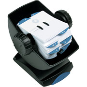 Rolodex Swivel Rotary Open Card File, Black