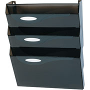 Rubbermaid Hot 4-Pocket Wall File Starter Set, Letter-Size