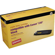 STAPLES Toner Cartridge Compatible with Canon E40
