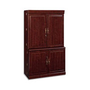 Sauder Heritage Hill Collection Computer Armoire, Cherry, Box 2 of 2