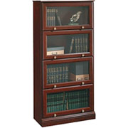 Sauder Roanoke Barrister Bookcase, Classic Cherry Finish