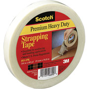 "Scotch Heavy-Duty Strapping Tape, 3/4"" x 60 Yards"