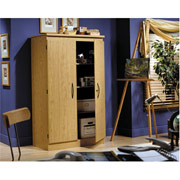 South Shore Honey Oak Armoire