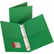 Twin-Pocket Fastener Portfolios, Green